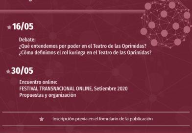 Encuentros Online Mayo 2020