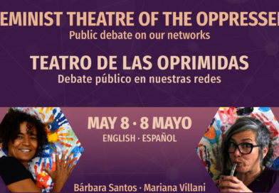 FEMINIST THEATRE OF THE OPPRESSED . TEATRO DE LAS OPRIMIDAS