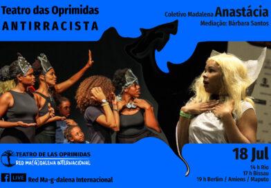 Teatro das oprimidas Antirracista